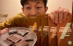 プロテインチョコレートは美味しい